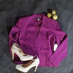 Purple business Blazer